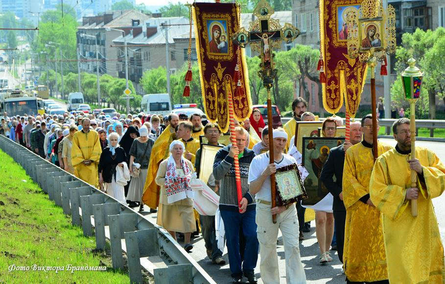 Престольный праздник и Крестный ход