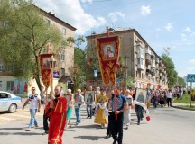 Крестный ход в день памяти свт. Николая Чудотворца