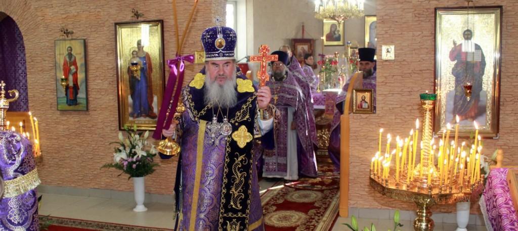 Встреча с Зосимой архиепископом Соликамским и Чусовским