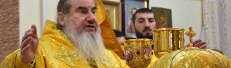 Божественная литургия в день памяти святителя Николая Чудотворца